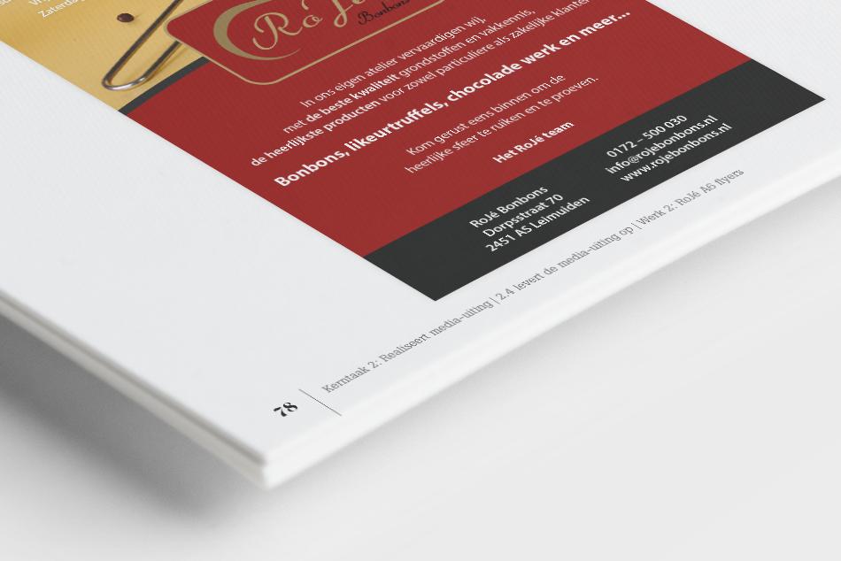 GLR Bewijzenboek pagina nummering Roje bonbons