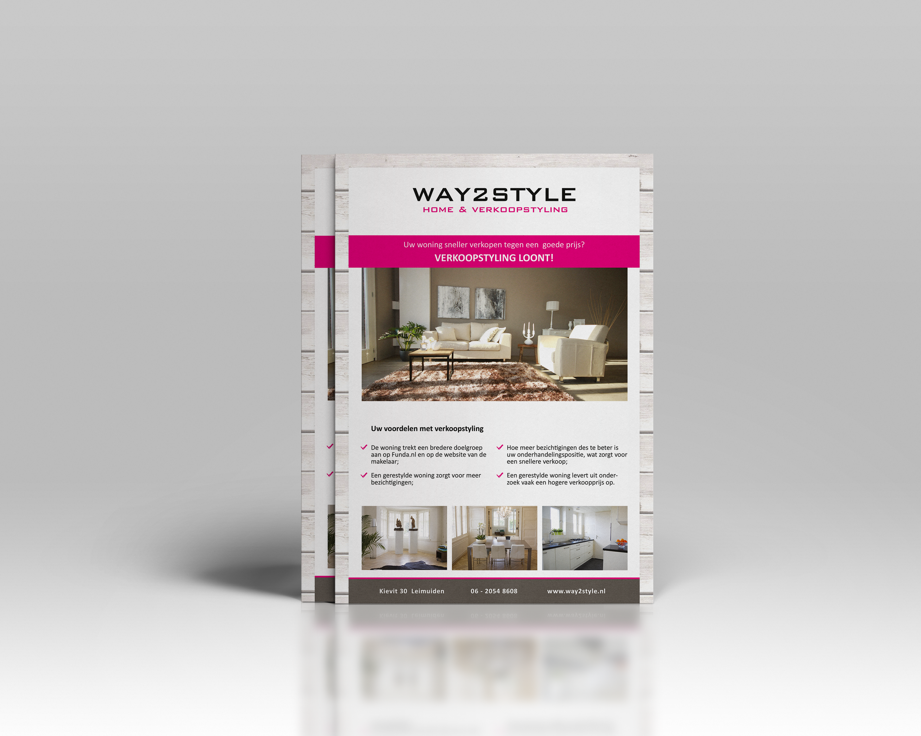 Way2Style A4 flyer