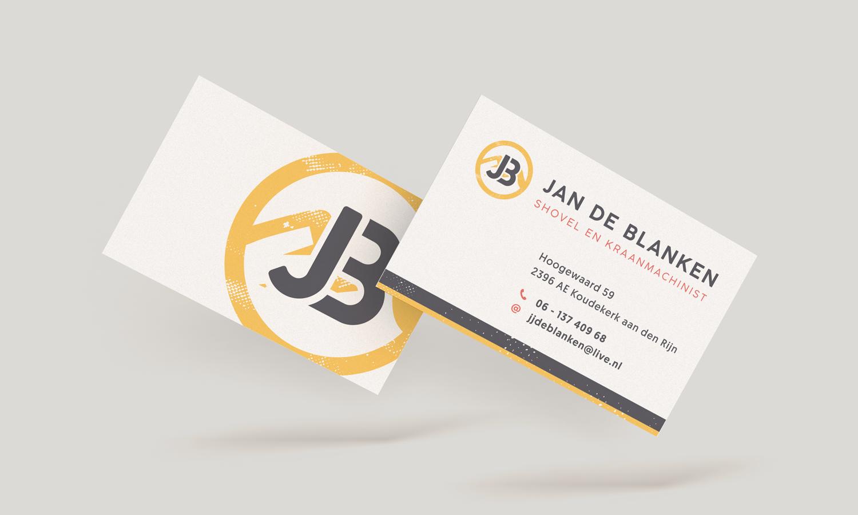 Jan de Blanken visitekaartje