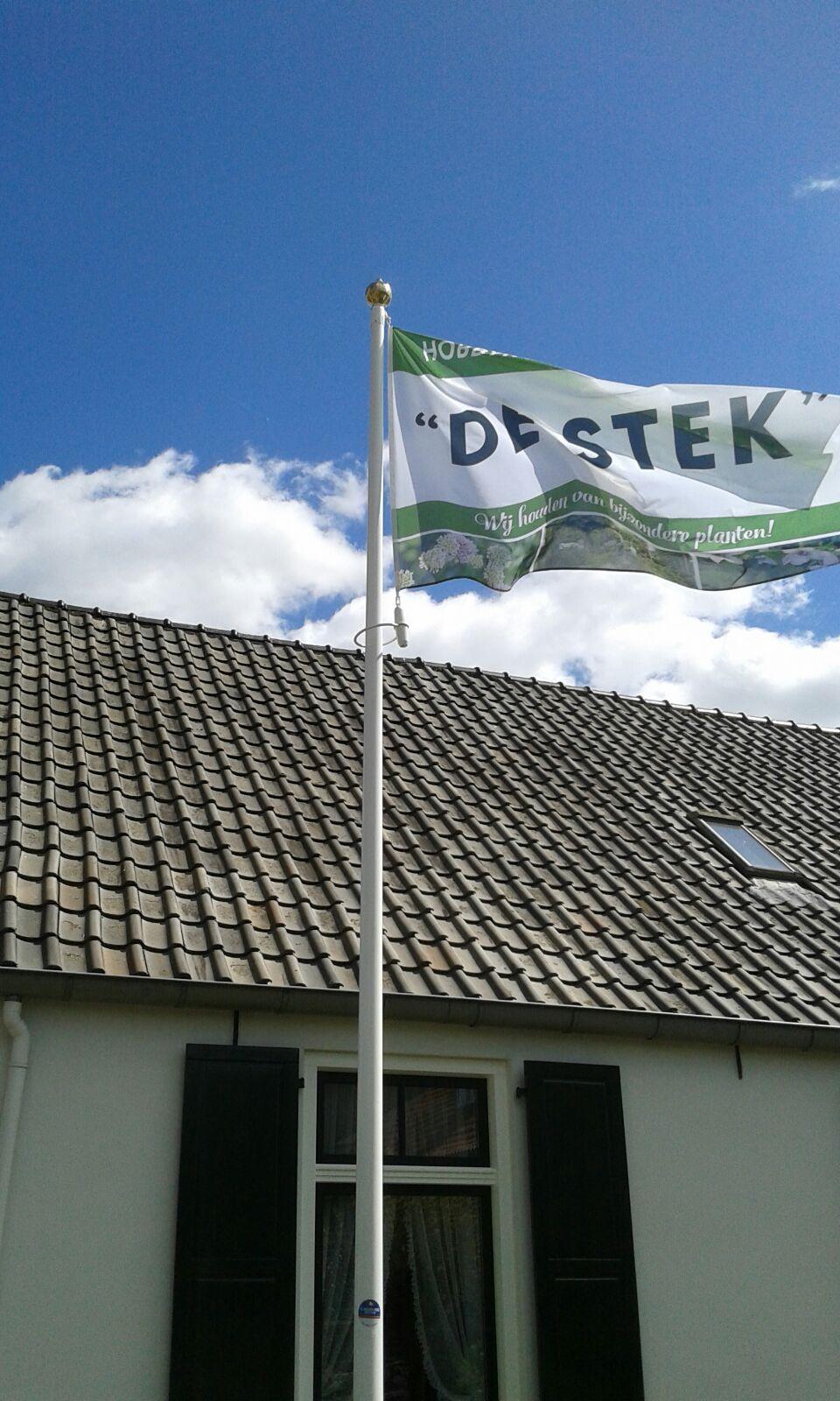 De Stek hobbykwekerij en kijktuin - Vlag