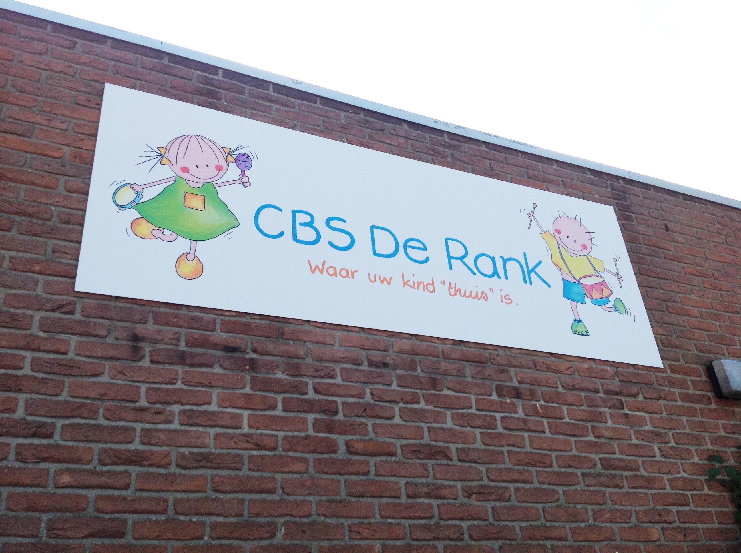 CBS De Rank_Gevelbord1