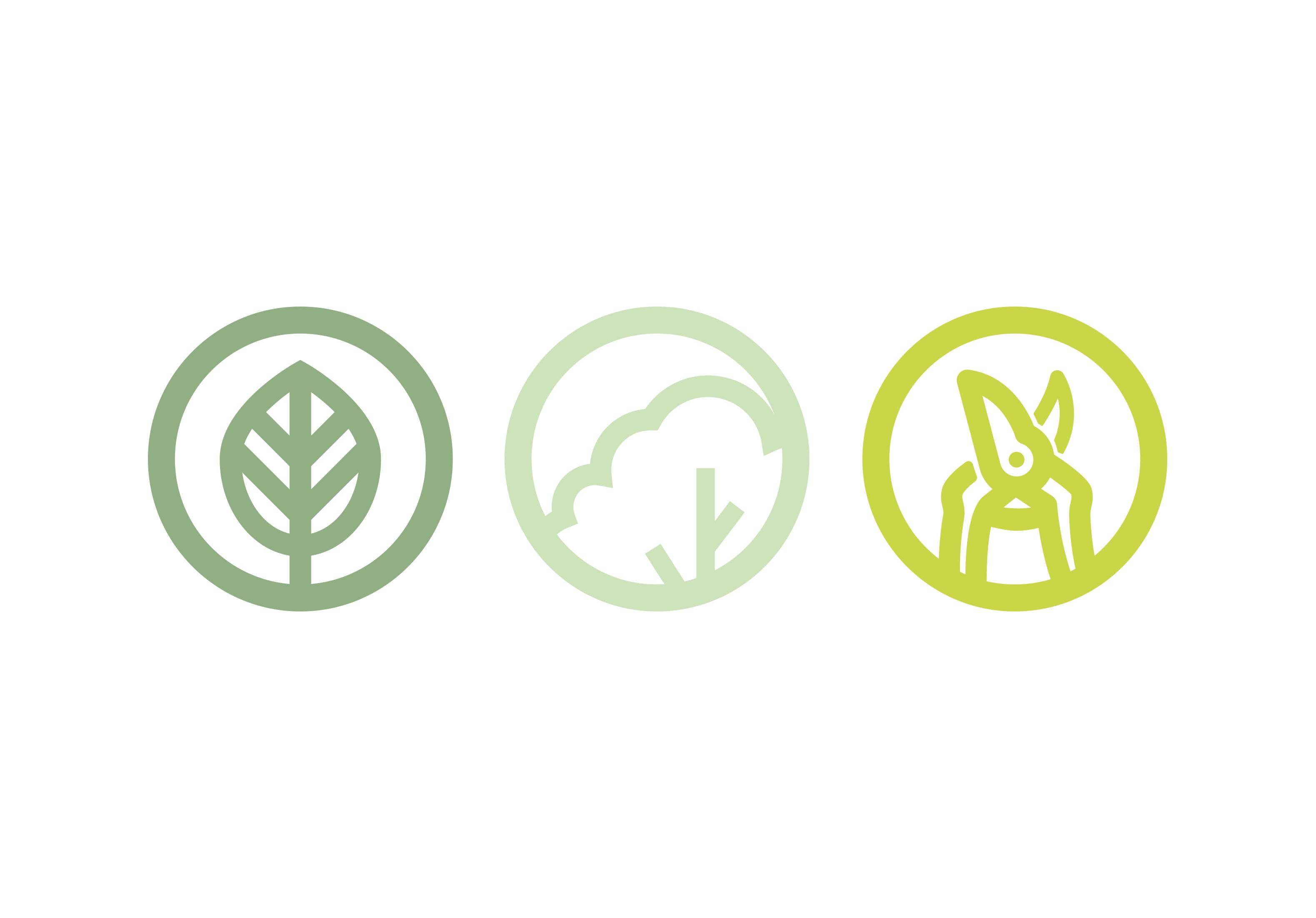 Vincent Loos Groenvoorziening - Beeldmerk (logo)