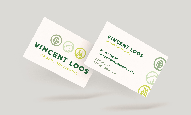 Vincent Loos Groenvoorziening - Visitekaartje