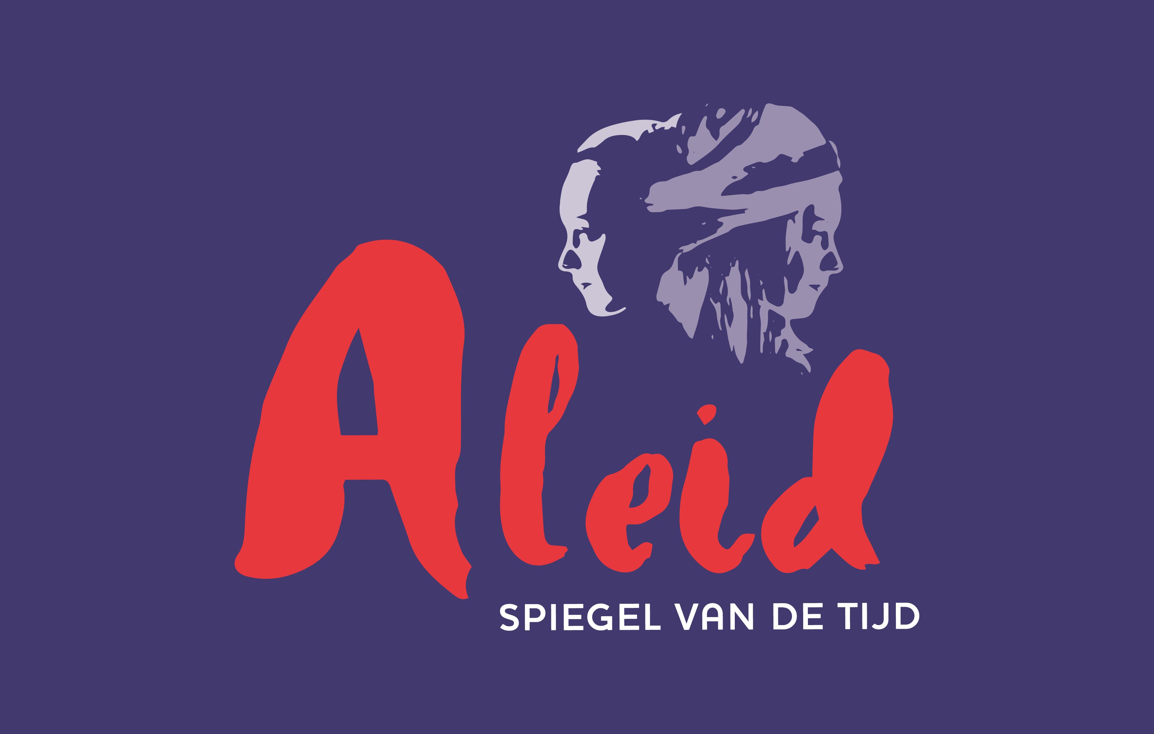 Theaterproductie 'Aleid - Spiegel van de tijd' logo ontwerp