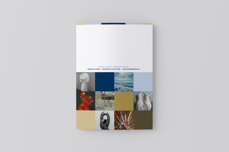 Kunstronde Rijnwoude 2017 - A5 folder (achterkant)