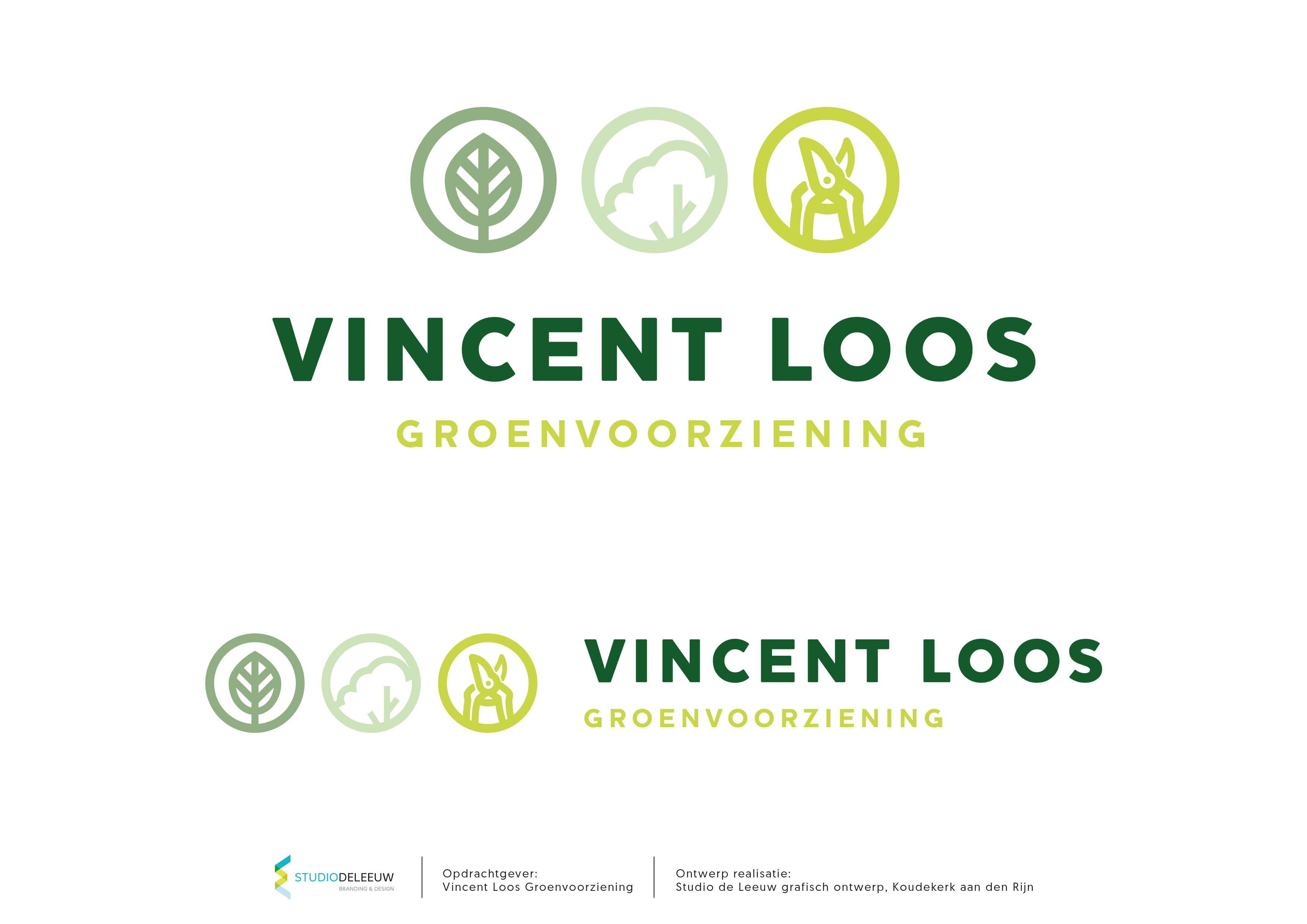 Vincent Loos Groenvoorziening - Logo