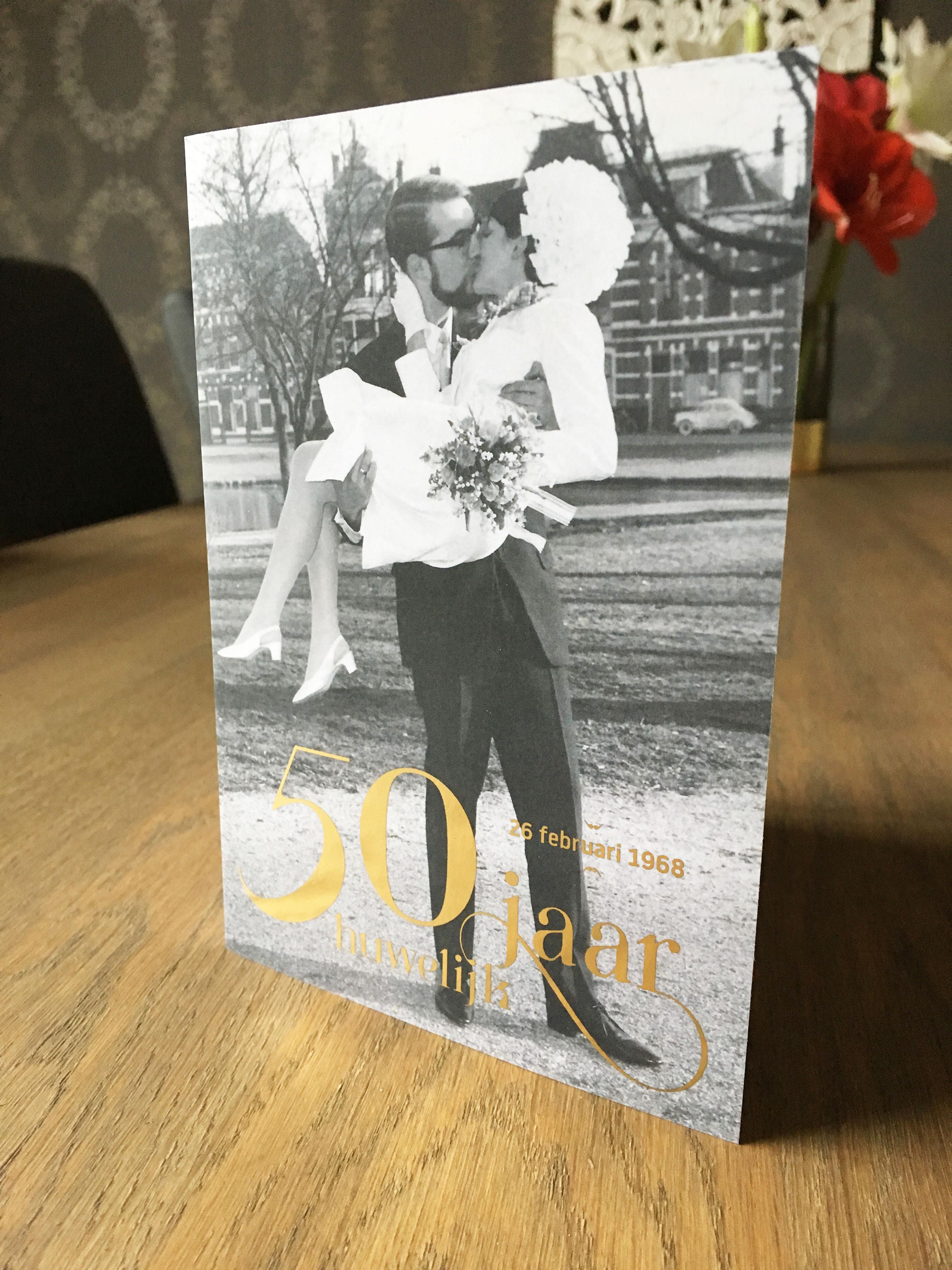 Ed & Anneke Bink uitnodiging