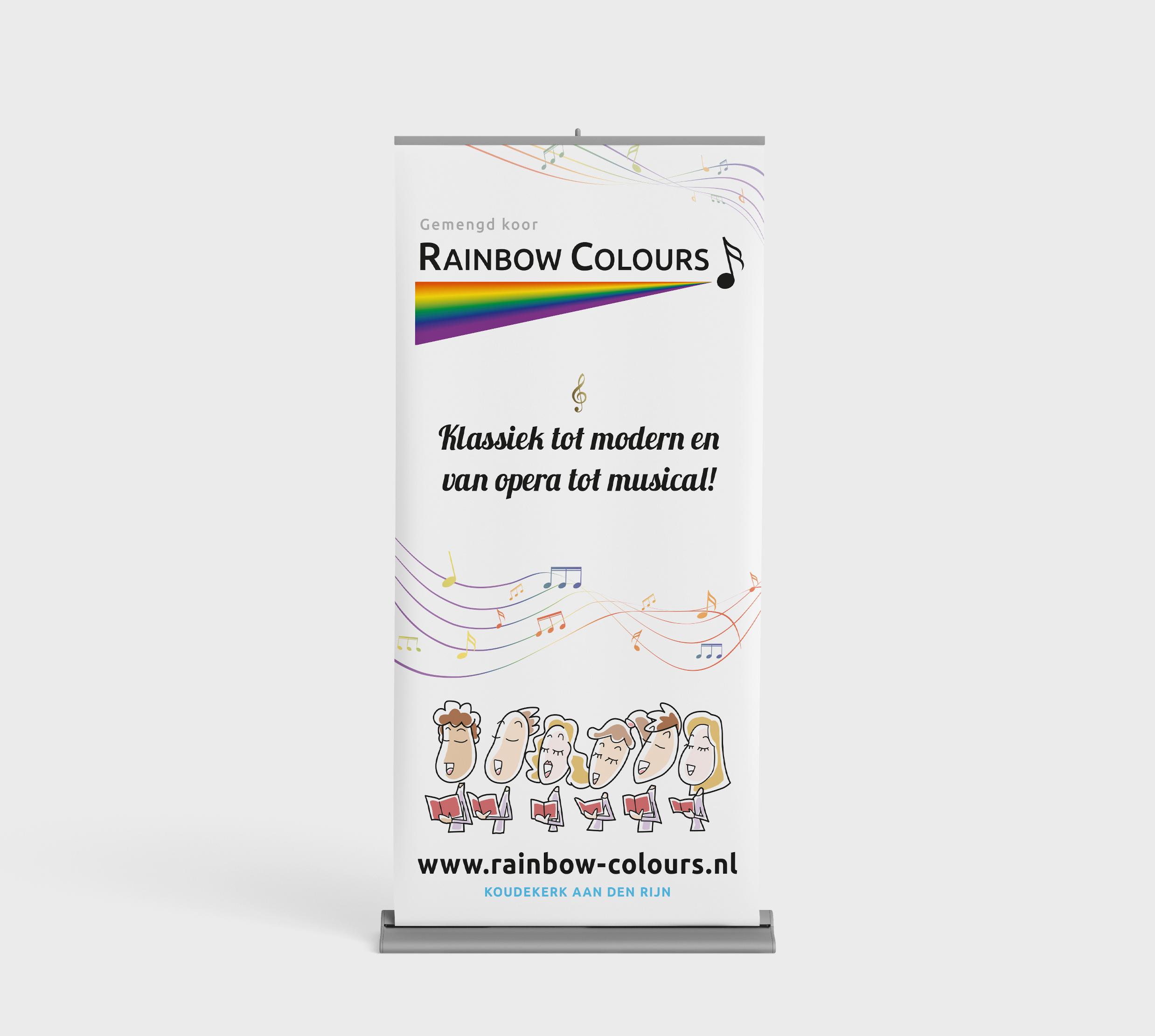 Rainbow Colours Koor Koudekerk aan den Rijn