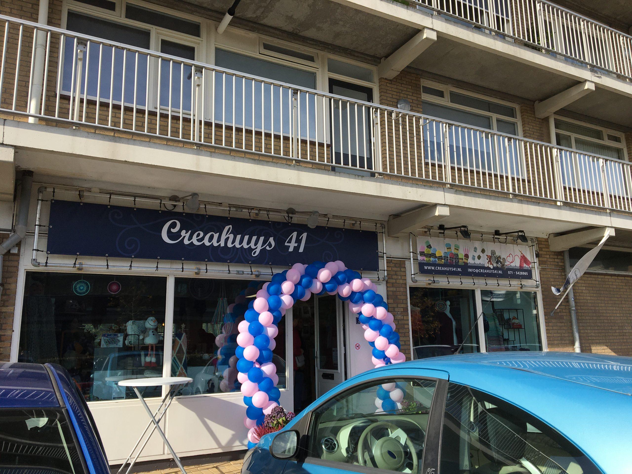 Nieuw winkelpand Creahuys 41